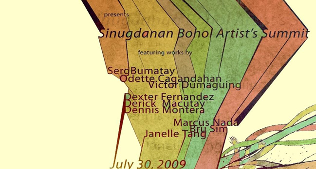 Bohol Artist Summit