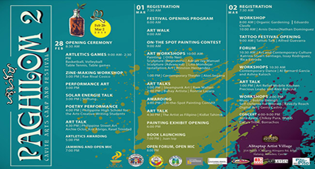 PAGHILOM 2, Cavite's biggest art festival occupies Amadeo